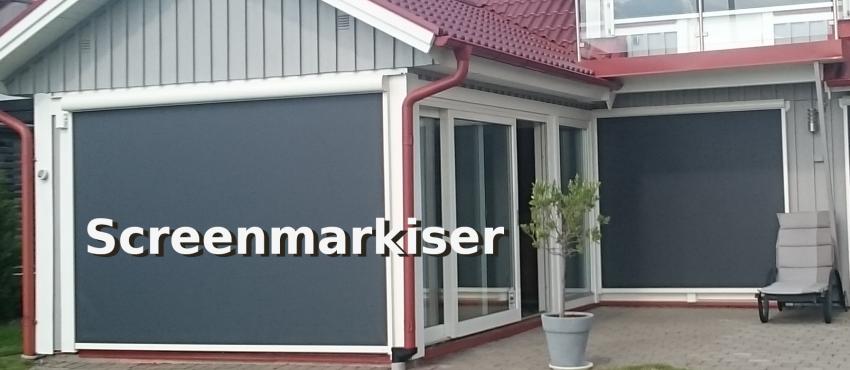 Screenmarkis - Vertikalmarkis som håller! Solskyddsproffset.se