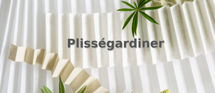 Svensktillverkade Plissegardiner - Måttanpassade
