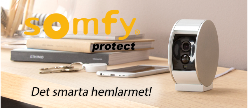 Somfy Protect Hemlarm, Helsingborg, Höganäs, Ängelholm, Landskrona